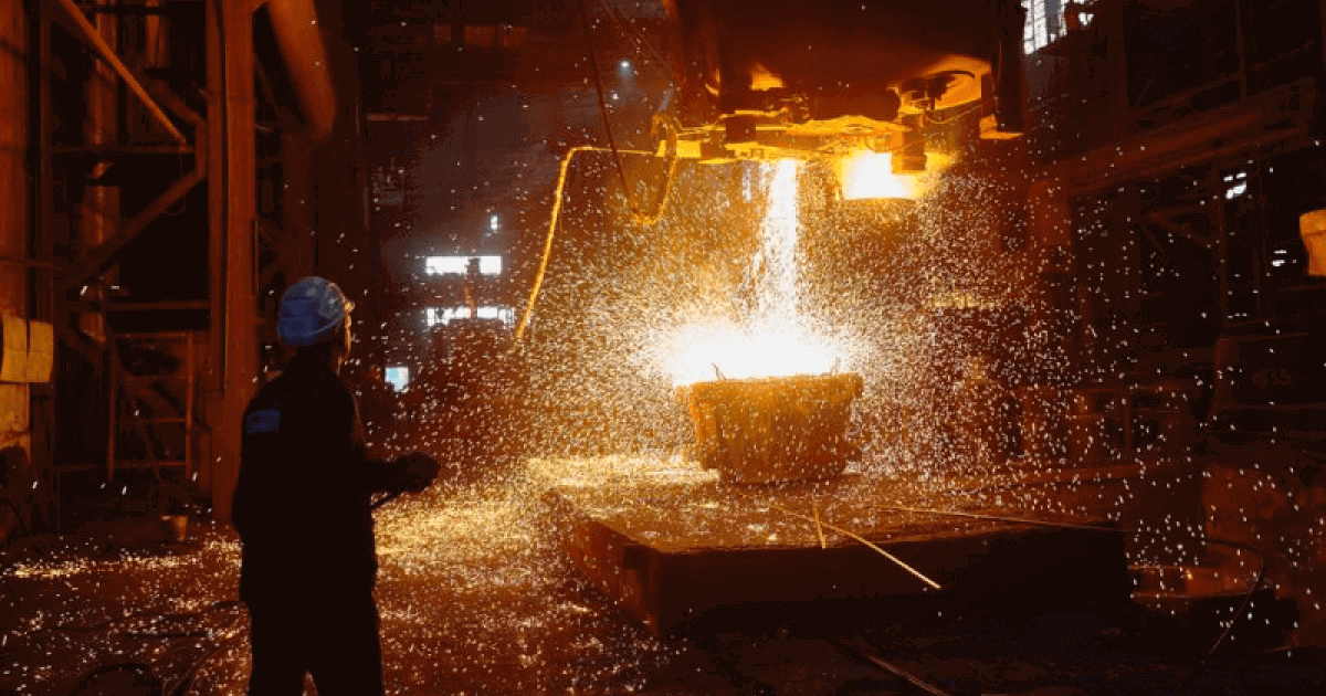 За 7 месяцев Украина нарастила выплавку стали и чугуна